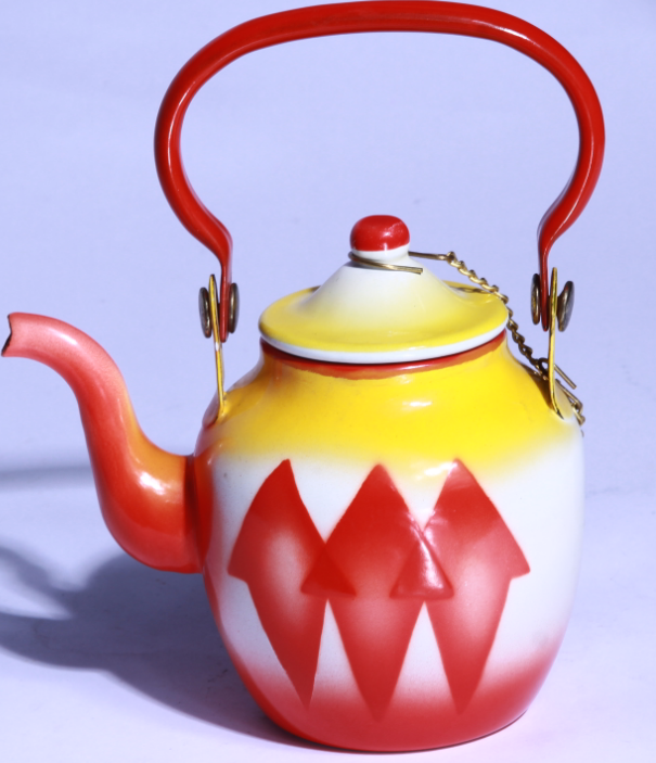 China factory supply lowest price of Enamel kettle to middeast