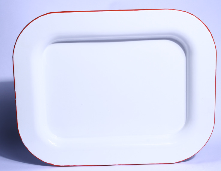 Best Quality of Enamel Tray without Deco to middeast