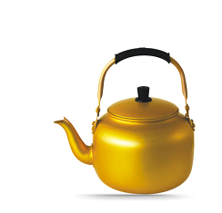Professional factory from China supply Arabric yellow Kettle to middeast
