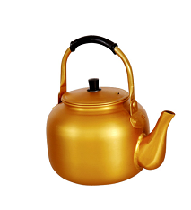 cheapest price of yellow kettle from China
