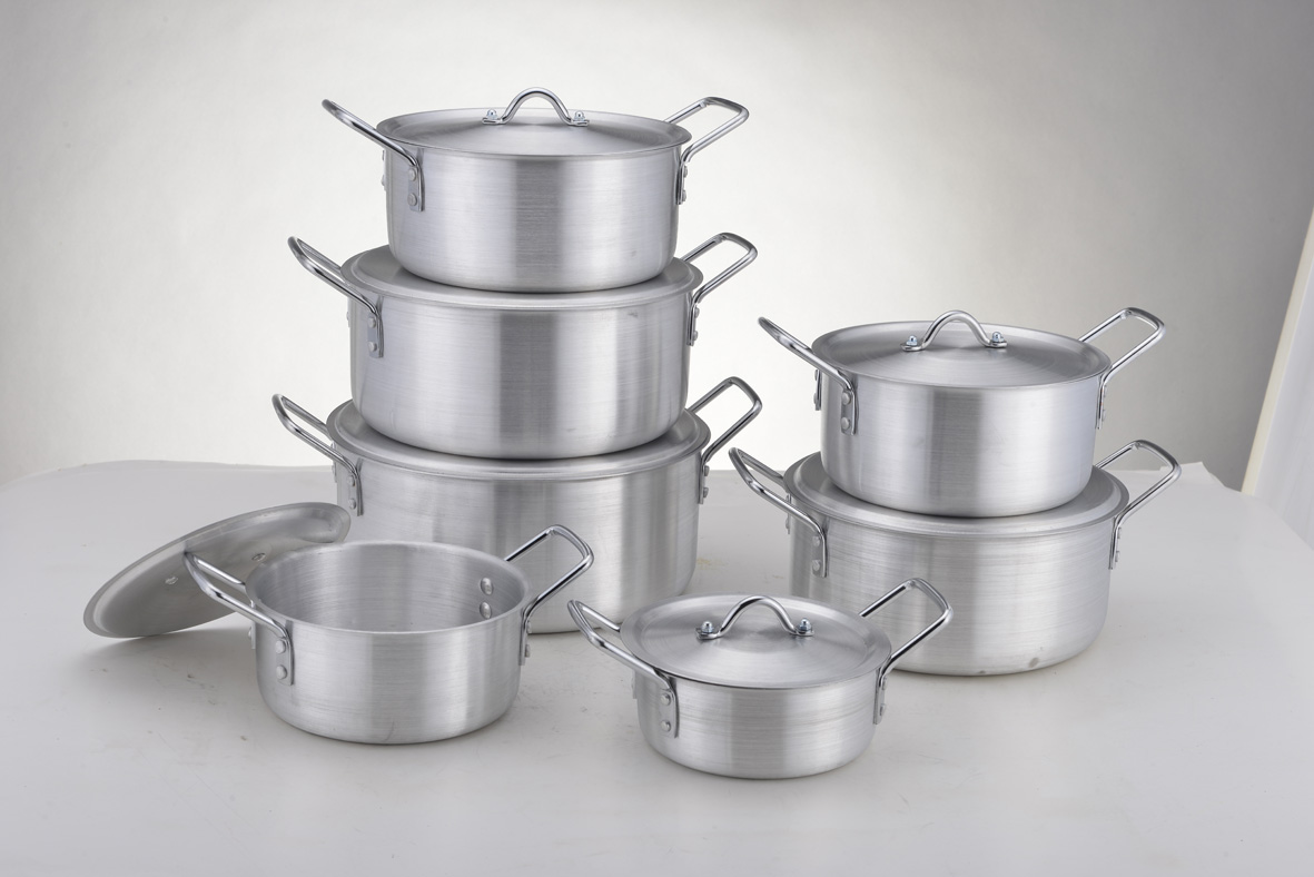 14pcs aluminium pot from china factory to middeast and africa