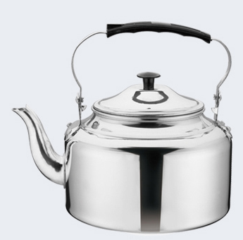 cheapest price of aluminium polished kettle from China