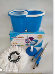 Factory price household cleaning plastic spin mops and buckets set
