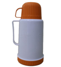 1.2L Plastic body and glass thermos vacuum flask