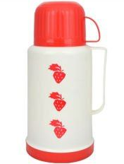 Wholesale 1.2L coffee thermos flask with cup and handle for daily life