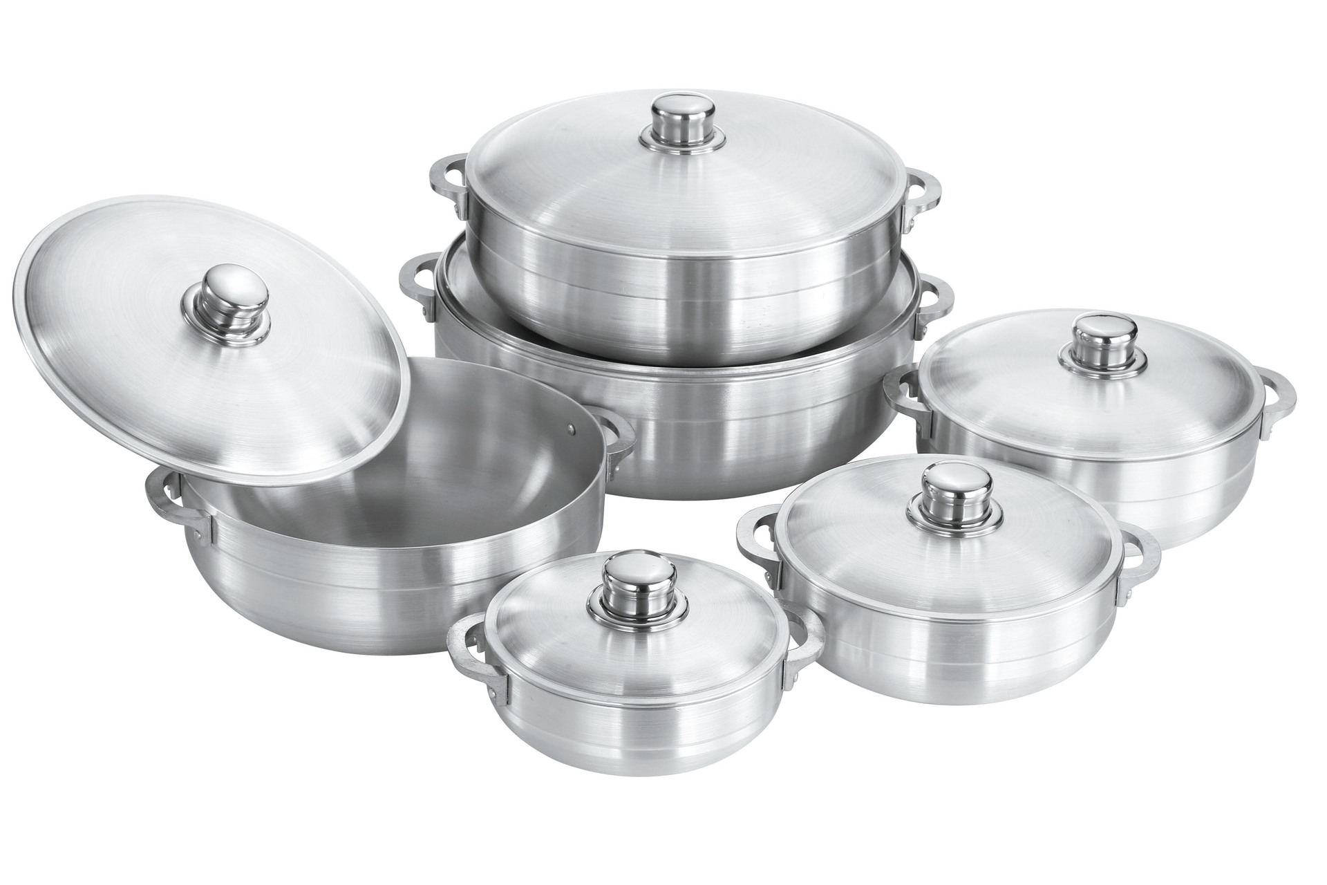 good quality aluminum forged pot to africa