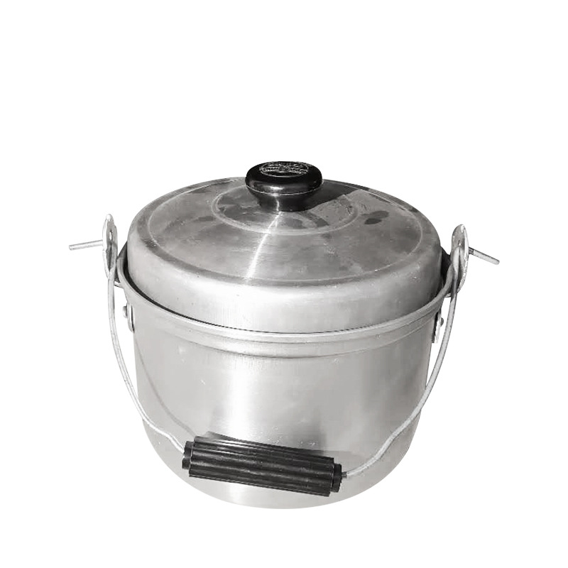 cheapeast price aluminium sand polish pot with handle to  the africa and middeast and south america