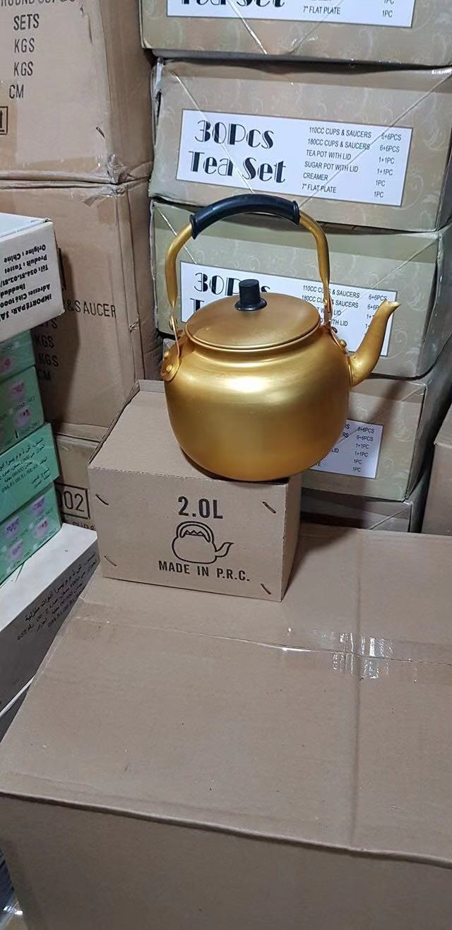 1.0L aluminum yellow kettle to middeast