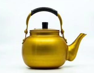 0.75L Aluminum Yellow Tea Kettle