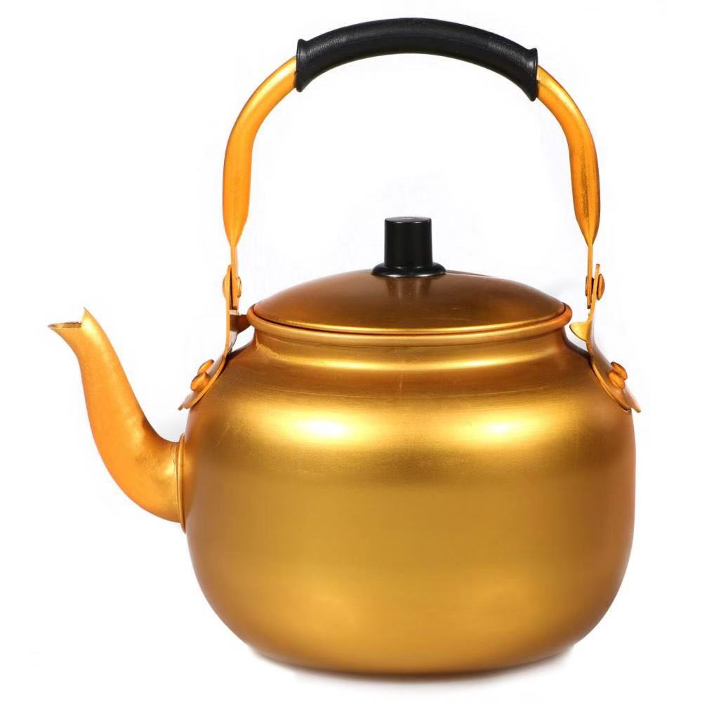 3.0L Aluminum Yellow Tea Kettle
