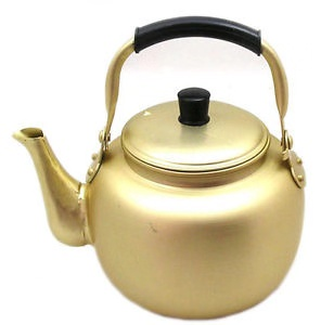 4.0L Aluminum Yellow Tea Kettle